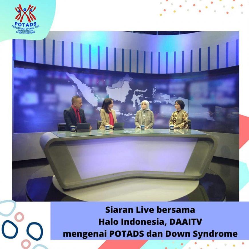 Siaran Live bersama Halo Indonesia, DAAITV