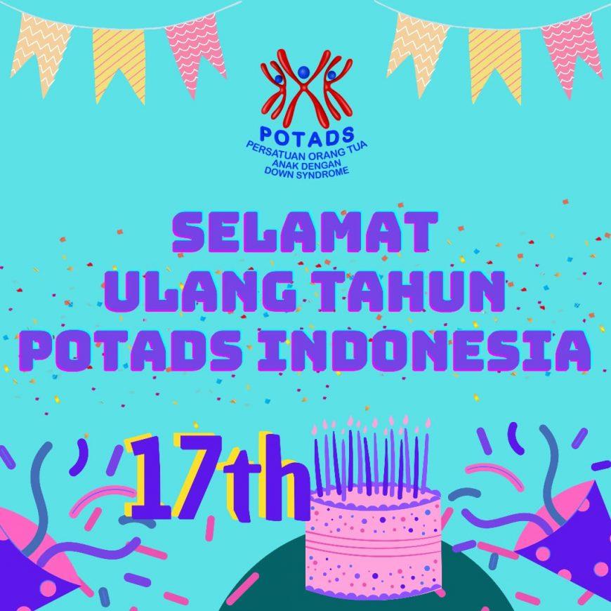 ULANG TAHUN POTADS INDONESIA KE 17